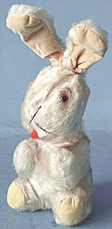 Vintage Plush Easter Bunny Rabbit (Image1)