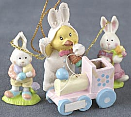 Bunny & Egg Ornaments (Image1)