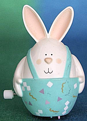 Hallmark Wind Up Bunny Rabbit (Image1)