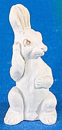 Vintage Chalk Bunny Rabbit (Image1)