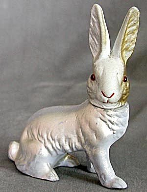 Vintage German Bunny Candy Container (Image1)