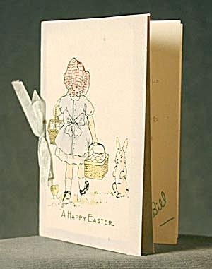 Vintage Sunbonnet, Chick & Bunny (Image1)