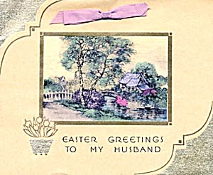 Vintage Easter Greetings House (Image1)