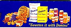 Domino Sugar Gummed Labels For Jams  (Image1)