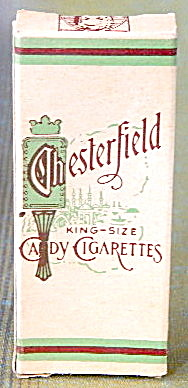 Vintage Chesterfield Candy Cigarettes Box