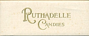 Vintage Ruthadelle Candies Box
