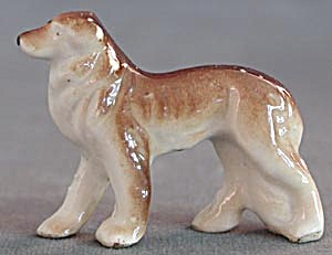 Vintage Collie & German Shepherd China Dog Figurines (Image1)