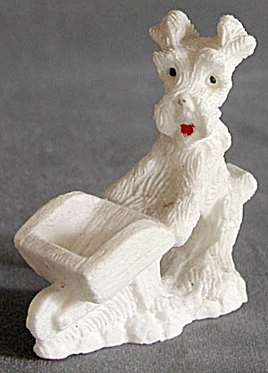 Vintage Scottie Or Westie Figurines Set Of 2