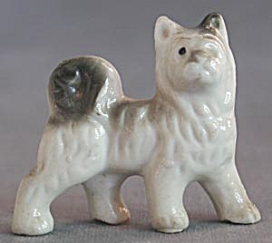 Vintage China Husky Dog Figurine (Image1)