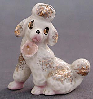 Vintage China Poodle Figurine (Image1)