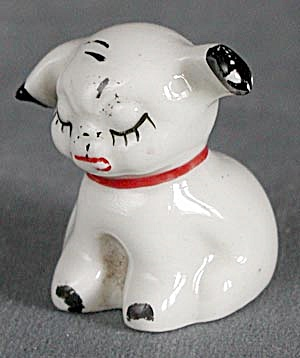 Vintage China Puppy Figurine (Image1)