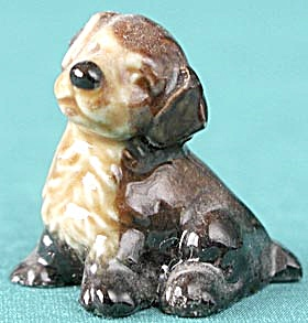 Vintage Wade Whimsy Dog Figurine