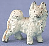 Vintage Cold Painted Eskimo Dog (Image1)