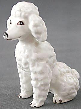 White Poodle Figurine (Image1)
