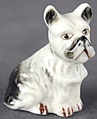 Vintage China Sitting Terrier (Image1)