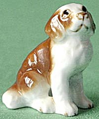 Vintage Bone China Spaniel Figurine