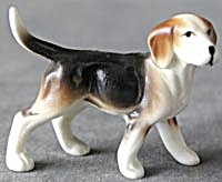 Vintage Bone China Beagle Dog Figurine