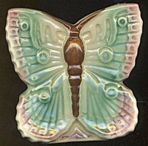 Vintage Moth Wall Pocket