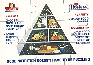 Vintage Hostess Pyrimid Puzzle