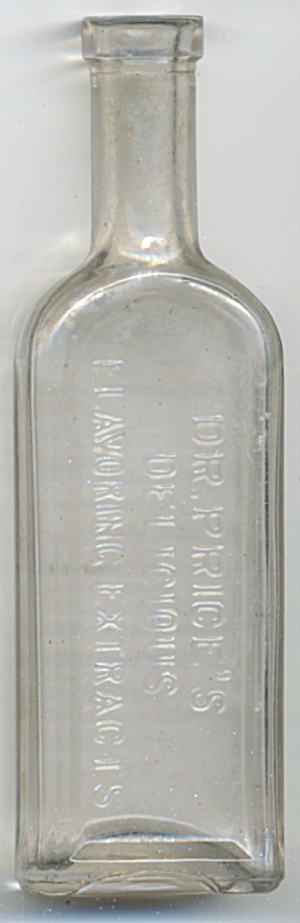 Antique Bottle Dr. Price's Delicious Flavoring Extracts
