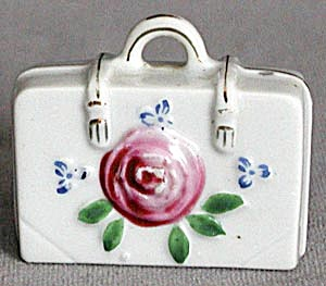 Vintage Occupied Japan Small China Suitcase (Image1)