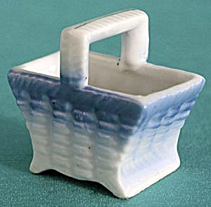 Vintage Small China Bassket (Image1)
