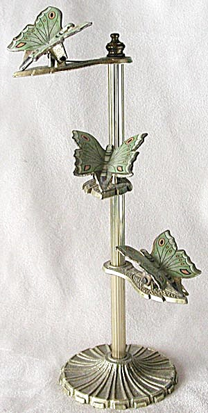 Vintage Butterfly Clip Stand