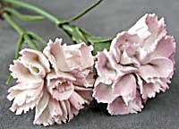 Vintage Staffordshire China Flowers (Image1)