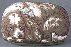 Vintage Spaniel Pillow (Image1)