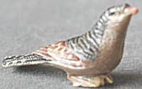 Vintage Small Celluloid / Plastic Bird Figurine