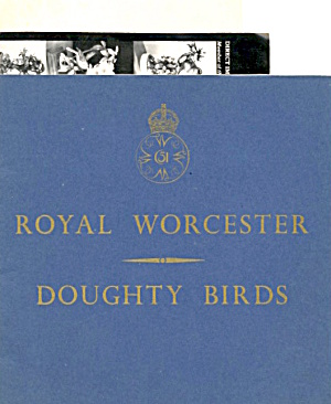 Royal Worcester Dorothy Doughty Birds Catalogue