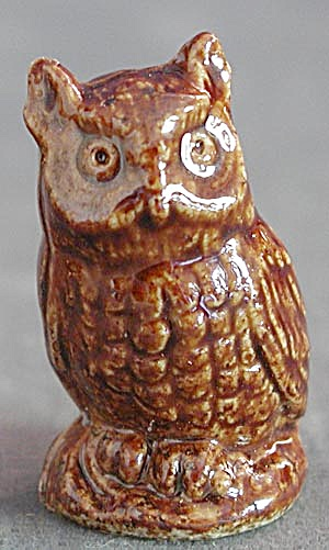 Wade Whimsy Figurine Brown Owl (Image1)