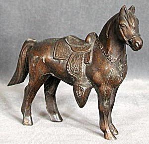 Vintage Metal Horse (Image1)