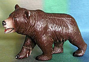 Vintage Composition Grizzly Bear Figurine (Image1)