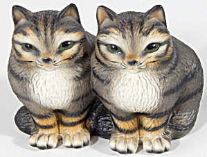 Vintage Twin Cats