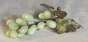 Vintage Green Stone Grapes (Image1)