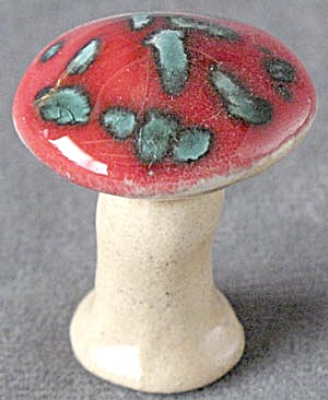 Ceramic Mushrooms Set Of 2