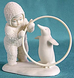 Retired Dept 56 Snowbabies: I'll Teach You A Trick (Image1)