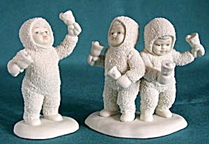 Retired Dept 56 Snowbabies: Let's All Chime In! (Image1)