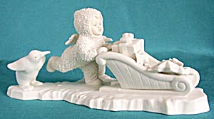 Retired Dept 56 Snowbabies: Wait For Me (Image1)