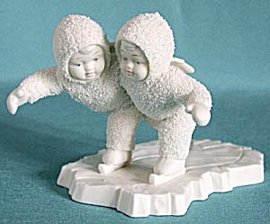 Retired Dept 56 Snowbabies: We Make A Great Pair (Image1)