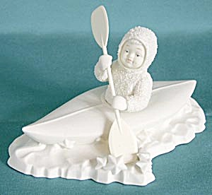 Retired Dept 56 Snowbabies: Crossing Starry Skies (Image1)