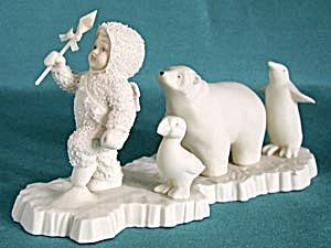 Retired Dept 56 Snowbabies Join The Parade Christmas Elves Fairies Pixies Snowbabies At