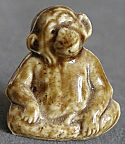Vintage Wade Monkey Figurine (Image1)