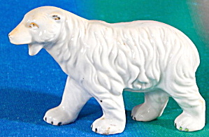 Antique Polar Bear Figurine