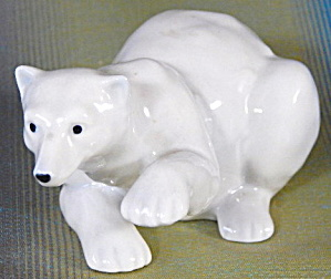 Vintage Polar Bear Paw Up