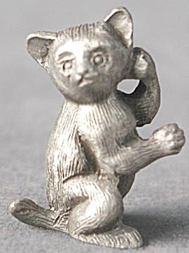 Rawcliffe Pewter Bush Baby (Image1)