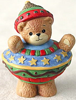 Lucy and Me Bear Dressed as an Ornament (Image1)