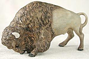 Vintage Cybis Buffalo/Bison Figurine (Image1)