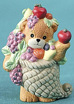 Lucy and Me Bear Dressed as a Cornucopia (Image1)